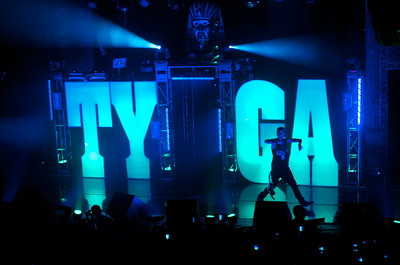Tyga at the Ogden Theatre on Tuesday, April 17, 2012. Photos by Ty Hyten, heyreverb.com.