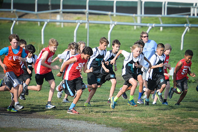 Tylers first XC Race