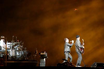 Bono and the Edge Magnificient