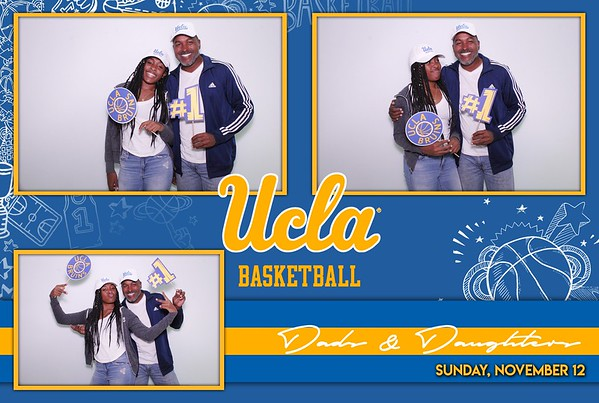 UCLA Womens Basketball: Dads and Daughters 2017