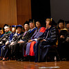 Cindy Chew<br /> 5/16/15<br /> Faculty gather at the UCSF Graduate Division Commencement held at Robertson Auditorium on Saturday.