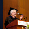 Cindy Chew<br /> 5/16/15<br /> Sue Rosser, Provost and Vice President for Academic Affairs at San Francisco State University, delivers the Address to the Candidates at the UCSF Graduate Division Commencement held at Robertson Auditorium on Saturday.