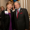 Cindy Chew<br /> 4/18/12<br /> UCSF Chancellor Susan Desmond-Hellmann and Tad Taube.