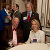 Cindy Chew<br /> 4/18/12<br /> U.S. Secretary of State George Shultz and Charlotte Shultz, seated, with Tad Taube at the 24th Annual Distinguished Citizen Award Dinner at The Commonwealth Club of California on Wednesday night.