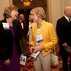 Cindy Chew<br /> 4/18/12<br /> UCSF Chancellor Susan Desmond-Hellmann and Presidio Trust Chairman Nancy Hellman Bechtle share a laugh at the 24th Annual Distinguished Citizen Award Dinner on Wednesday night.