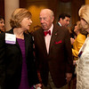 Cindy Chew<br /> 4/18/12<br /> UCSF Chancellor Susan Desmond-Hellmann speaks with U.S. Secretary of State George Shultz, as Charlotte Shultz looks on at the 24th Annual Distinguished Citizen Award Dinner hosted by The Commonwealth Club on Wednesday night.