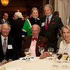 Cindy Chew<br /> 4/18/12<br /> U.S. Secretary of State George Shultz and Charlotte Shultz, seated center, with Carl Brunsting, Sandy Kurtzg and Tad Taube at the 24th Annual Distinguished Citizen Award Dinner at The Commonwealth Club of California on Wednesday night.