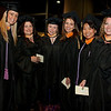 Cindy Chew <br /> 6/5/12<br /> Nursing students Amanda Giordano, Beverly Granda, Joanna Davis, Suzanne Meyer and Sherry Lee Yamamoto, from left, pose for a photo together before the UCSF School of Nursing Commencement on Tuesday.
