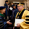 Cindy Chew <br /> 6/5/12<br /> UCSF School of Nursing Dean David Vlahov and Chancellor Susan Desmond-Hellmann chat before the UCSF School of Nursing Commencement held at Davies Symphony Hall on Tuesday.