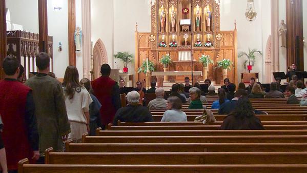 UConn Collegium Musicum The Play of St. Agnes