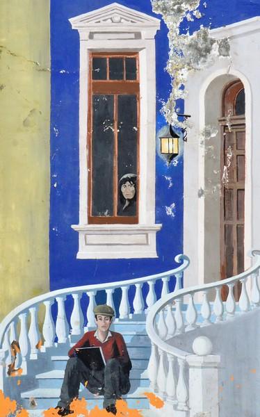 UDD Punta Arenas Mural art
