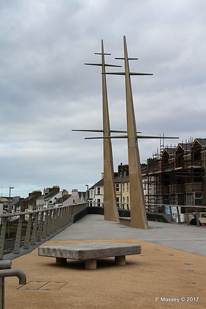 Ship's Masts Corner Kerr St & Castle Erin Rd Portrush Antrim 25-02-2017 15-07-00