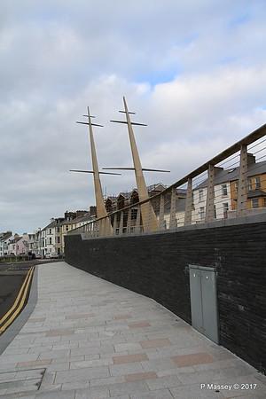 Ship's Masts Corner Kerr St & Castle Erin Rd Portrush Antrim 25-02-2017 15-07-29
