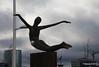 Bronze Titanica ouside TITANIC Belfast 26-02-2017 13-58-51
