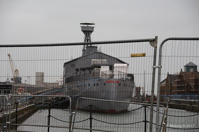 HMS CAROLINE Closed until Spring 2017 Belfast 26-02-2017 10-59-34