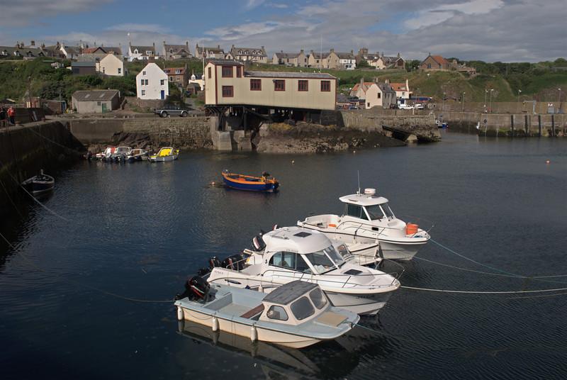 St Abbs outer harbour, Scottish Borders September 2008