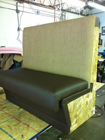 Custom built booth