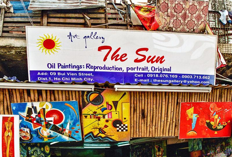 Kandinsky in Saigon, VIETNAM