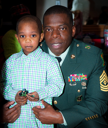 US Army 800 MP Family Holiday Party - Hicksville VFW