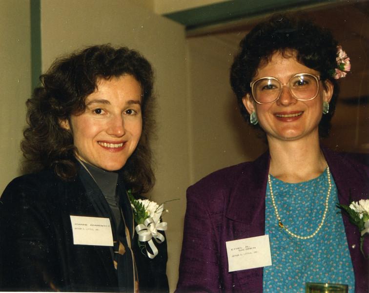 Joanne Adamowicz and Ethel Salonel (ADL)