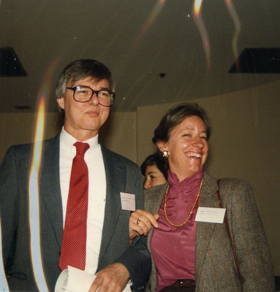 Malcolm Hamilton (Harvard JFK) and Ann Wolpert (ADL)