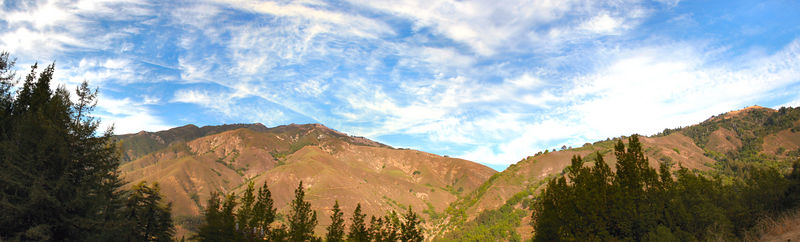 The Big Sur is the description of the main part of the scenic coastal route between San Francisco and Los Angeles. It's a bit like Victoria's Great Ocean Road. This panorama is of the actual ridge that is called the Big Sur.