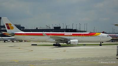 Iberia A330 EC-LUX ORD 01-06-2016 12-47-29