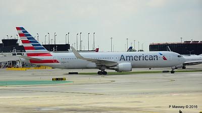 American Airlines 767 N390AA ORD 01-06-2016 12-35-47