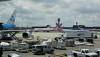 KLM 747 PH-BFE Air Berlin A330 D-ALPA American 737N968AN ORD 01-06-2016 13-26-56
