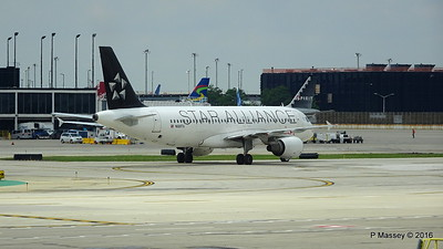 Avianca Star Alliance A320 N689TA ORD 01-06-2016 12-26-54
