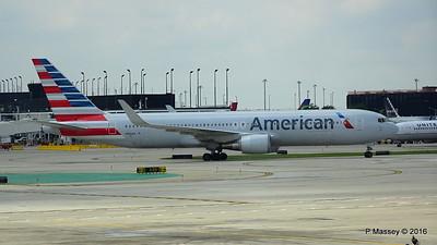 American Airlines 767 N390AA ORD 01-06-2016 12-35-46