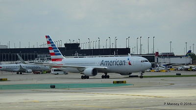 American Airlines 767 N390AA ORD 01-06-2016 12-35-39