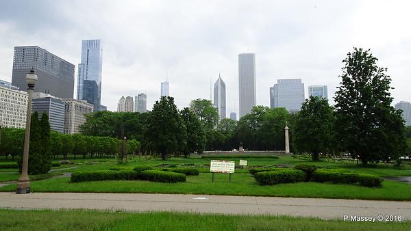 Downtown Chicago 1 Jun 2016