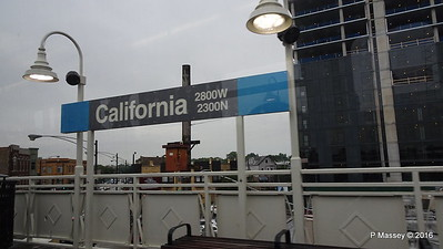 California Station CTA Blue Line to ORD Chicago 01-06-2016 09-46-57