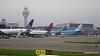 United 777 Delta 777 N709DN KLM A330 PH-AKB AMS 02-06-2016 08-36-03