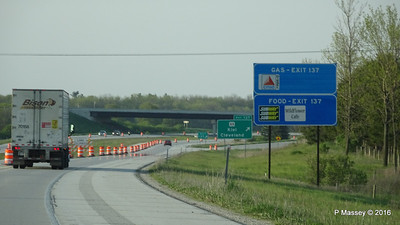 Exit 137 I43 Roadworks N Towards Cleveland 23-05-2016 18-00-43