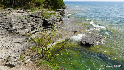 Cave Point County Park Limestone Erosion WI PDM 24-05-2016 09-38-50