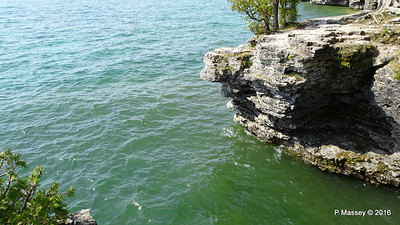 Cave Point County Park Limestone Erosion WI PDM 24-05-2016 09-39-13