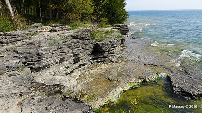 Cave Point County Park Limestone Erosion WI PDM 24-05-2016 09-38-30
