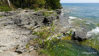Cave Point County Park Limestone Erosion WI PDM 24-05-2016 09-38-49