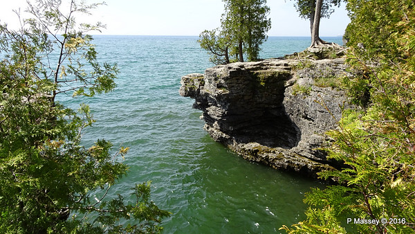 Cave Point, Sister Bay, Ellison Bay, Gills Rock & Northport WI 24 May 2016