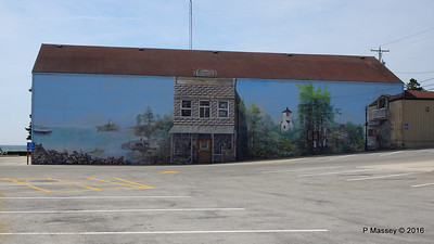 Brann Bros Stores Painted on Side Nelson Shopping Center Baileys Harbour WI PDM 24-05-2016 10-04-044