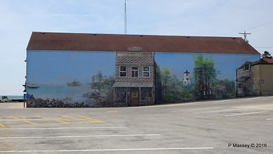 Brann Bros Stores Painted on Side Nelson Shopping Center Baileys Harbour WI PDM 24-05-2016 10-04-048