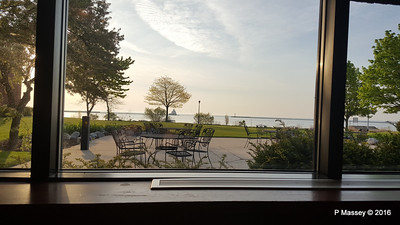 Manitowoc Harbour from Breakfast Room Baymont Inn & Suites Lakefront Manitowoc 24-05-2016 06-16-54