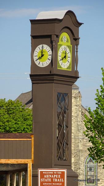 World's Tallest Grandfather Clock Kewaunee Wisconsin PDM 24-05-2016 08-01-38