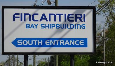 Fincantieri Bay Shipbuilding N 1st Ave Sturgeon Bay Wisconsin 24-05-2016 09-02-021