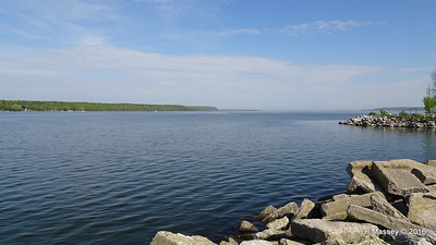 Sturgeon Bay from Sunset Park Wisconsin 24-05-2016 09-06-47