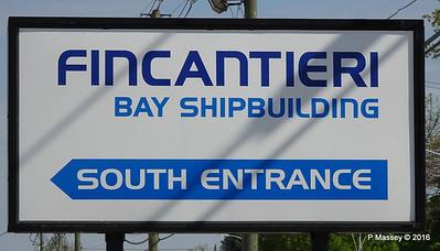 Fincantieri Bay Shipbuilding N 1st Ave Sturgeon Bay Wisconsin 24-05-2016 09-02-20