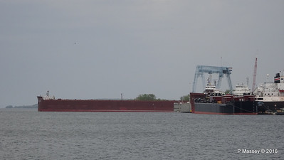 JAMES R BARKER Tank Barge LOUISIANA more Sturgeon Bay Wisconsin 24-05-2016 13-26-03