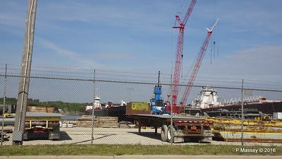 AMERICAN COURAGE GREAT LAKES tug REBECCA LYNN Fincantieri N 1st Ave Sturgeon Bay Wisconsin 24-05-2016 09-01-42